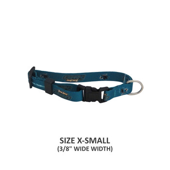San Jose Sharks Pet Nylon Collar - Small