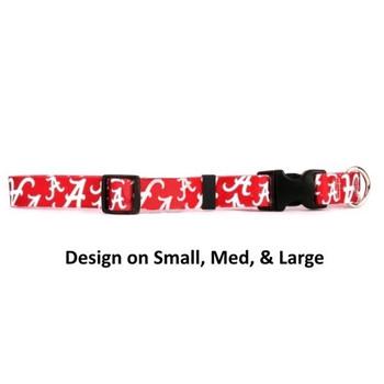 Alabama Crimson Tide Nylon Collar