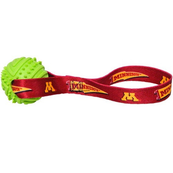 Minnesota Golden Gophers Rubber Ball Toss Toy