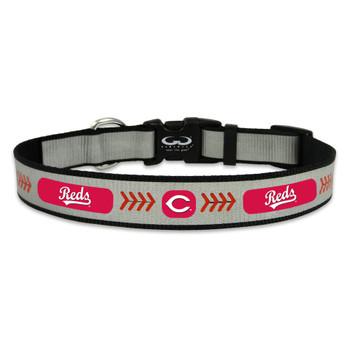 Cincinnati Reds Reflective Pet Collar
