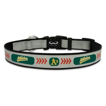 "Oakland A""s Pet Reflective Collar"