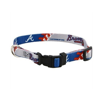 Atlanta Braves Dog Collar - HBRV4002-0001