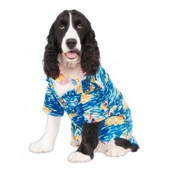 Big Dogs Luau Pet Costume - XXL