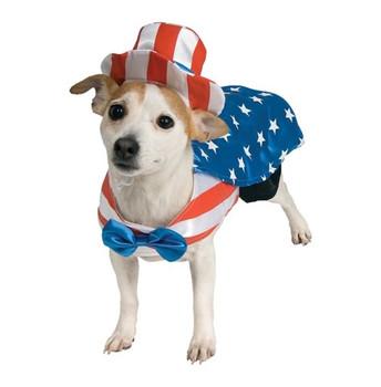 Uncle Sam Pet Costume