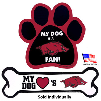 Arkansas Razorbacks Car Magnets
