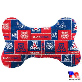 Arizona Wildcats Plush Bone Toy