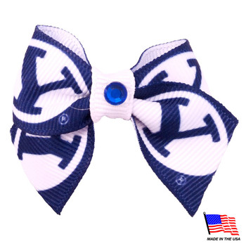 Brigham Young Cougars Pet Hair Bow