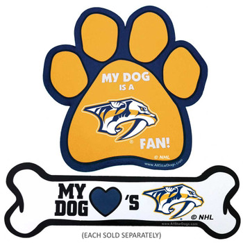 Nashville Predators Car Magnets