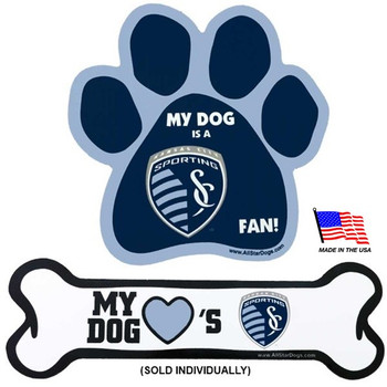 Sporting KC Car Magnets