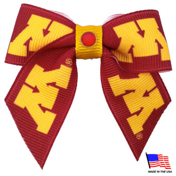 Minnesota Golden Gophers Pet Hair Bow
