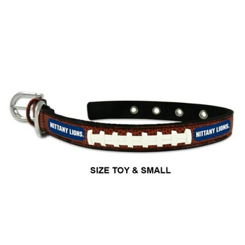 Penn State Nittany Lions Classic Leather Football Collar