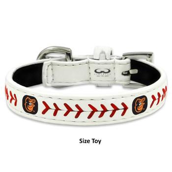 Baltimore Orioles Classic Leather Baseball Collar