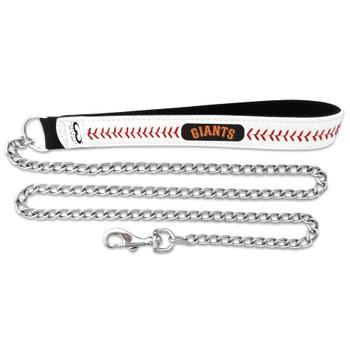 San Francisco Giants Leather Baseball Seam Leash