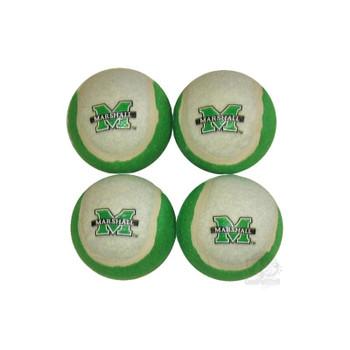 Marshall Thundering Herd Tennis Ball 4-Pak