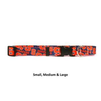 Syracuse Orange Nylon Collar