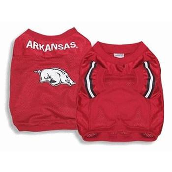 Arkansas Dog Jersey Alternate Style
