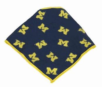 Michigan Wolverines Dog Bandana Style #2