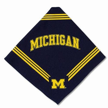 Michigan Wolverines Dog Bandana