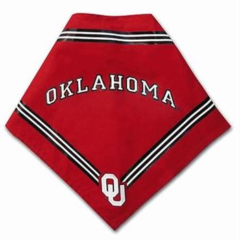 Oklahoma Sooners Dog Bandana