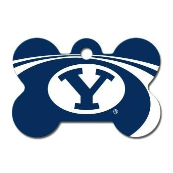 Brigham Young Cougars Bone ID Tag