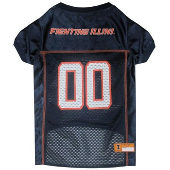 Illinois Fighting Illini Pet Jersey