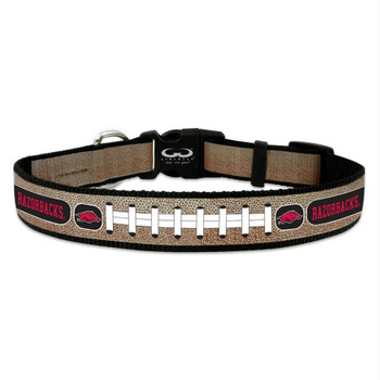 Arkansas Razorbacks Reflective Football Pet Collar