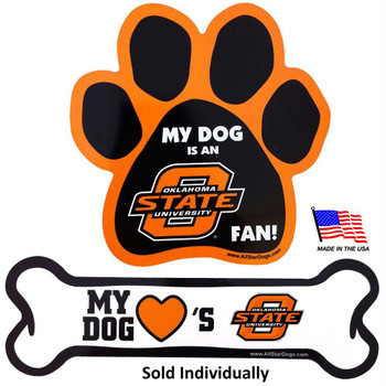 Oklahoma State Car Magnets