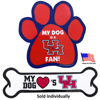 Houston Cougars Car Magnets