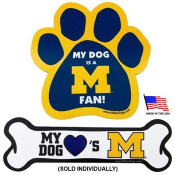 Michigan Wolverines Car Magnets
