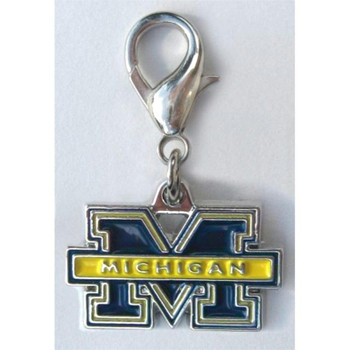 Michigan Wolverines Collar Charm