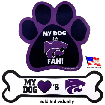 Kansas State Car Magnets