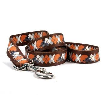 Cleveland Browns Argyle Nylon Leash