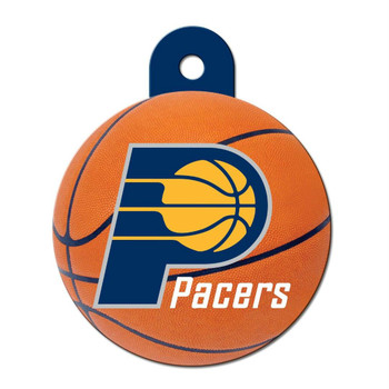 Indiana Pacers Circle ID Tag