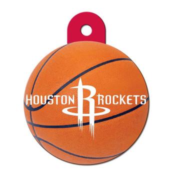 Houston Rockets Circle ID Tag