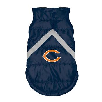 Chicago Bears Pet Puffer Vest - Teacup