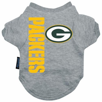Green Bay Packers Dog Tee Shirt  - HGBP4273-0001