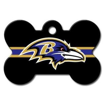 Baltimore Ravens Bone ID Tag