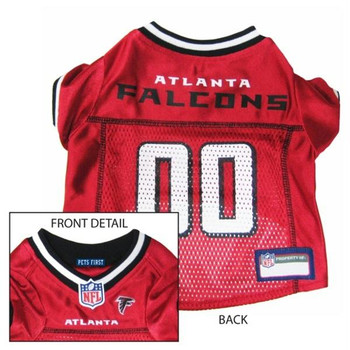 Atlanta Falcons Dog Jersey  - pfatl4006-0001