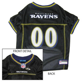 Baltimore Ravens Dog Jersey  - pfbal4006-0001