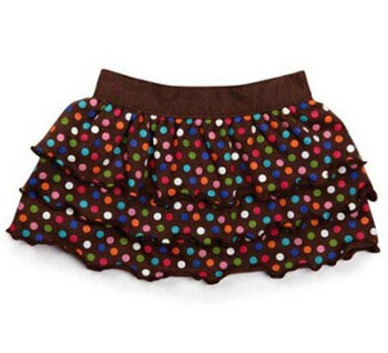 Polka Dot Ruffle Dog Skirts