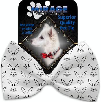 Bunny Face Pet Bow Tie