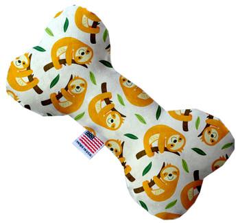 Sleepy Sloths Bone Dog Toy