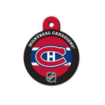 Montreal Canadiens Large Circle ID Tag