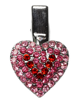 Heart Clip Pink