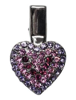 Heart Clip Purple