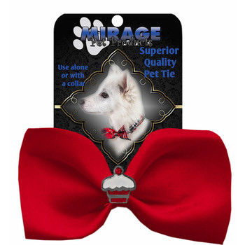 Cupcake Widget Pet Dog Bow Tie - 13 Colors