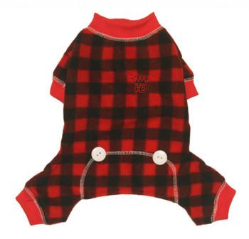Buffalo Plaid Lumberjack Long Johns Dog Pajamas