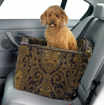 Microvelvet Luxury Car Booster Seat