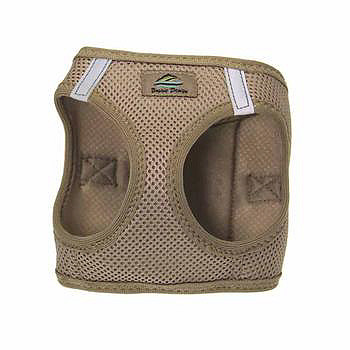 American River Ultra Choke Free Dog Harness - Beige
