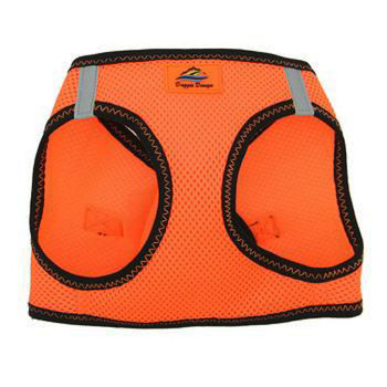 American River Ultra Choke Free Dog Harness - Iridiscent Orange